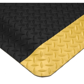 Tapis anti-fatigue pour milieu sec - Diamond Plate Spongecote 414
